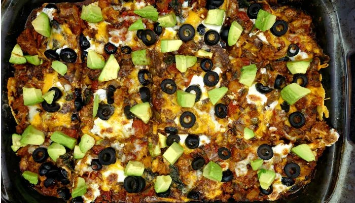 The Ultimate Gluten Free Healthy Mexican Casserole